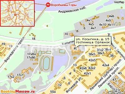 Гостиницы Москвы. Гостиница